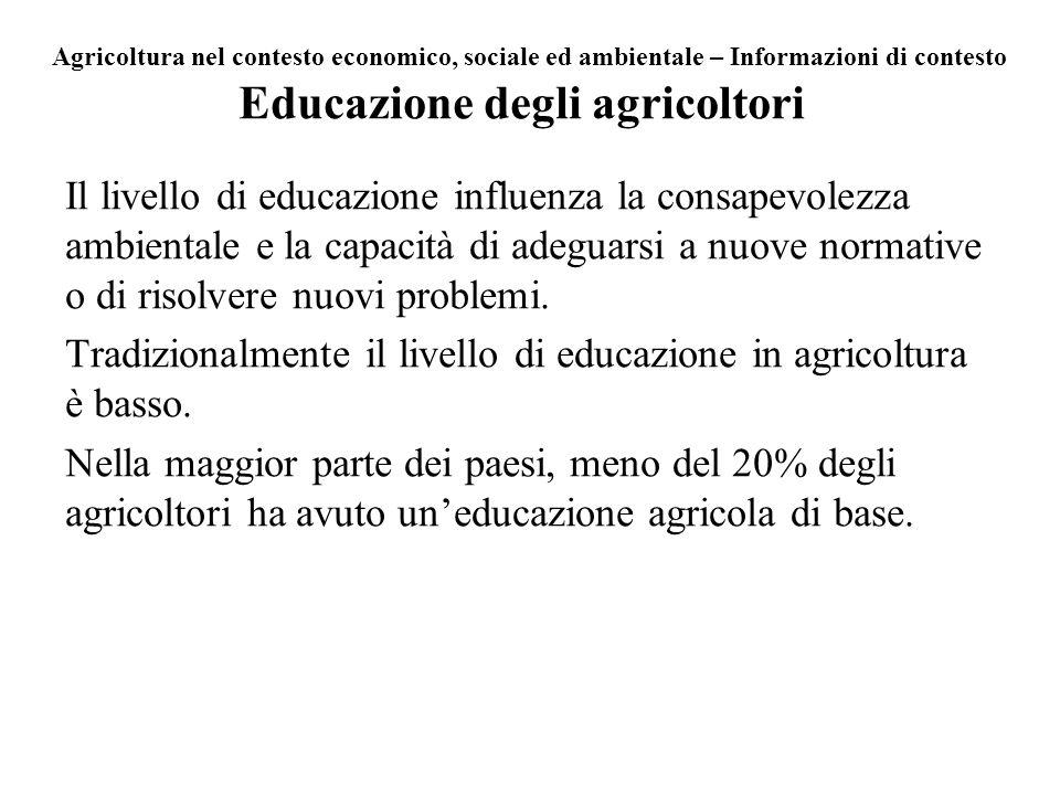 Educazione degli agricoltori