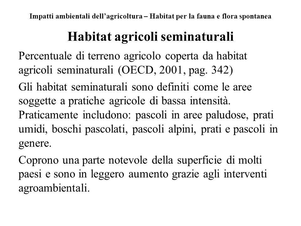 Habitat agricoli seminaturali