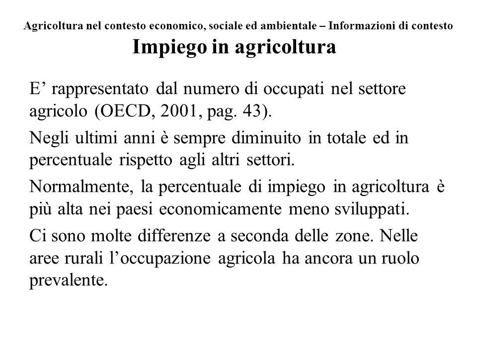 Impiego in agricoltura