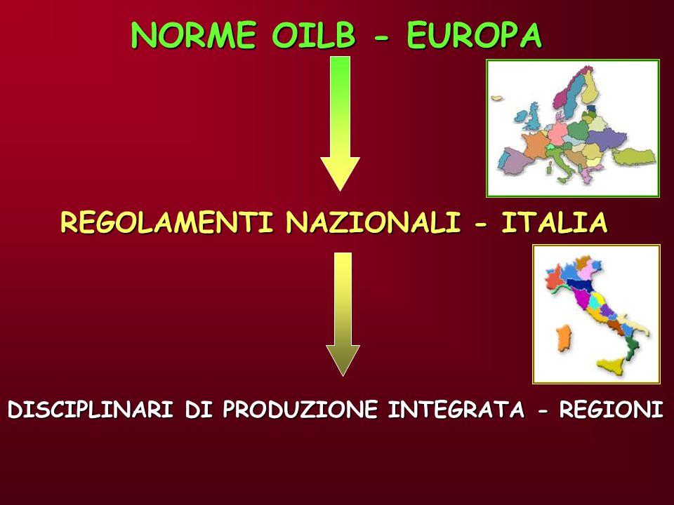 NORME OILB - EUROPA REGOLAMENTI NAZIONALI - ITALIA