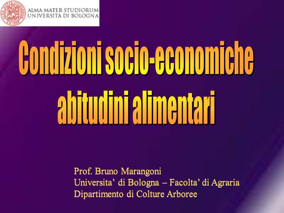 Condizioni socio-economiche