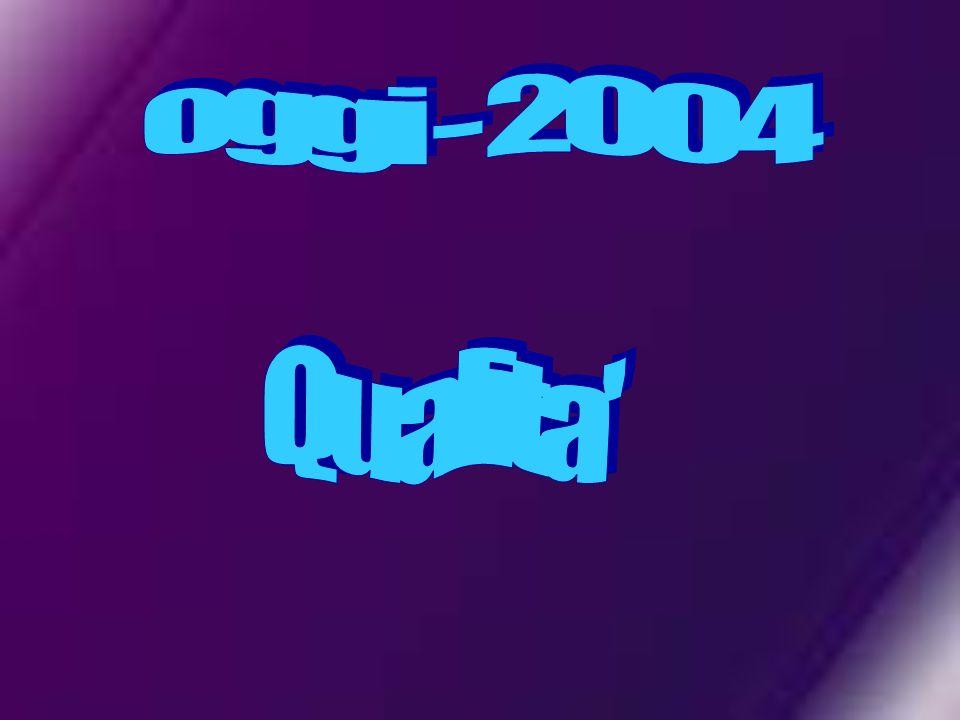 oggi - 2004 Qualita