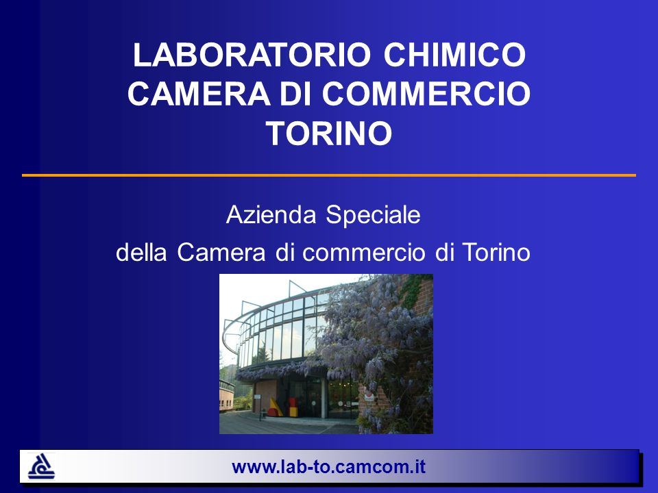 LABORATORIO CHIMICO CAMERA DI COMMERCIO TORINO