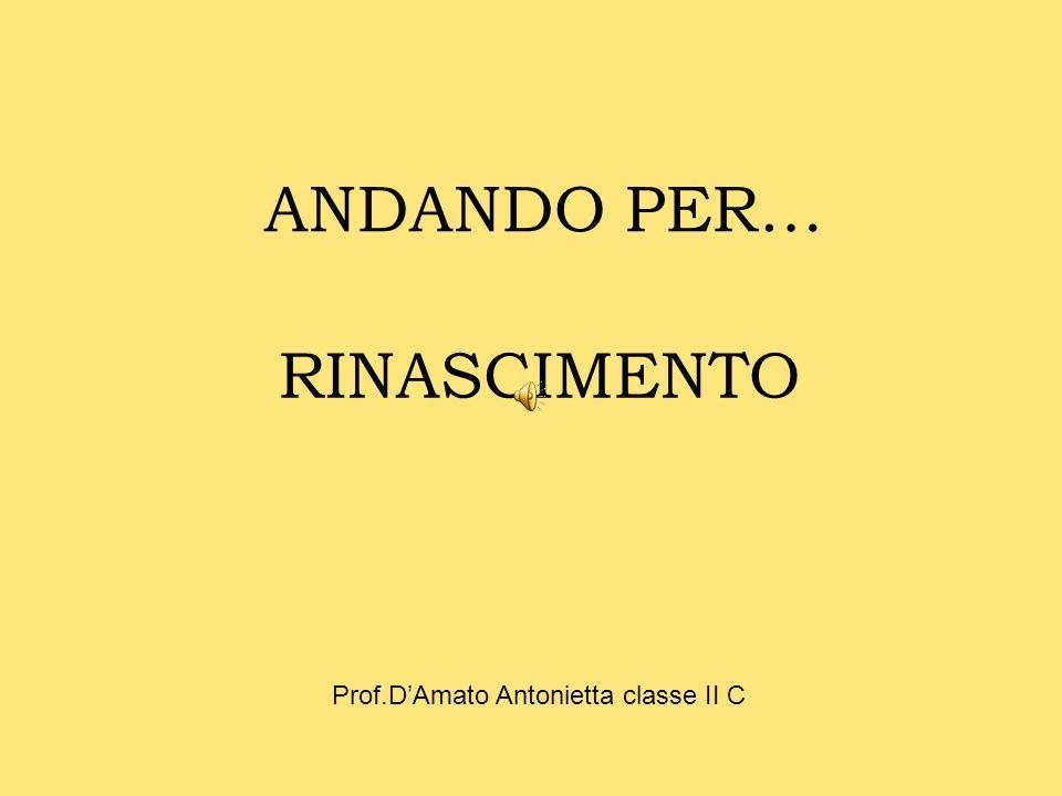 Prof.D'Amato Antonietta classe II C