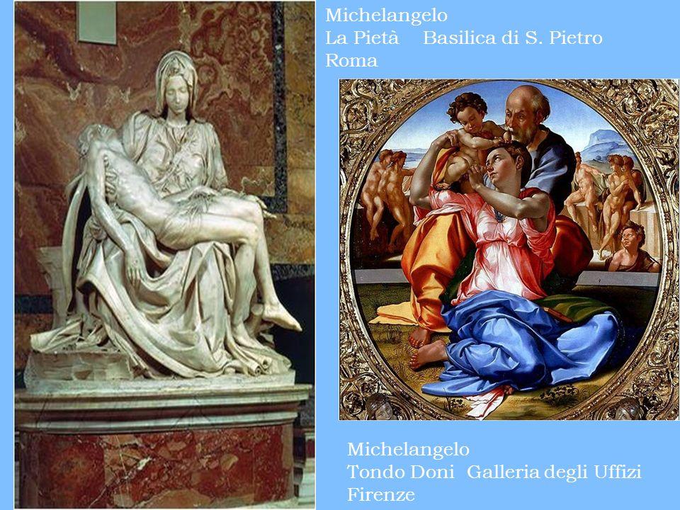 Michelangelo La Pietà Basilica di S. Pietro. Roma.