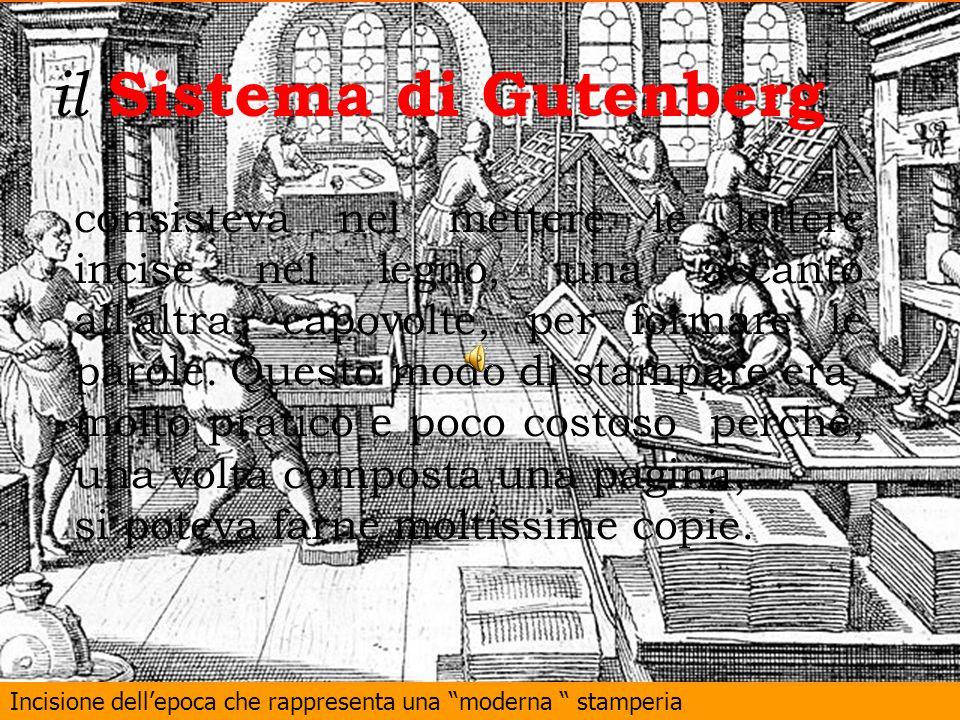il Sistema di Gutenberg