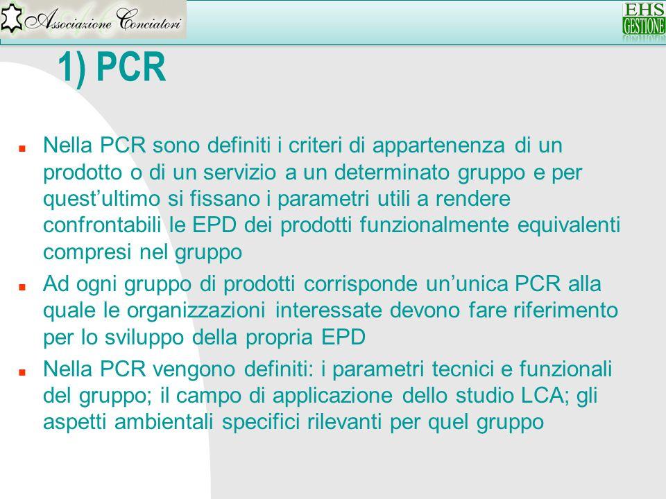 1) PCR