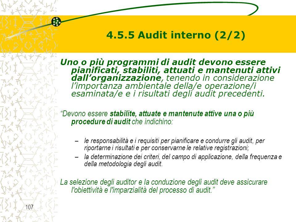 4.5.5 Audit interno (2/2)