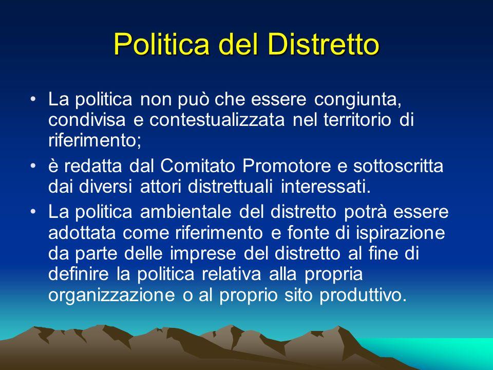 Politica del Distretto
