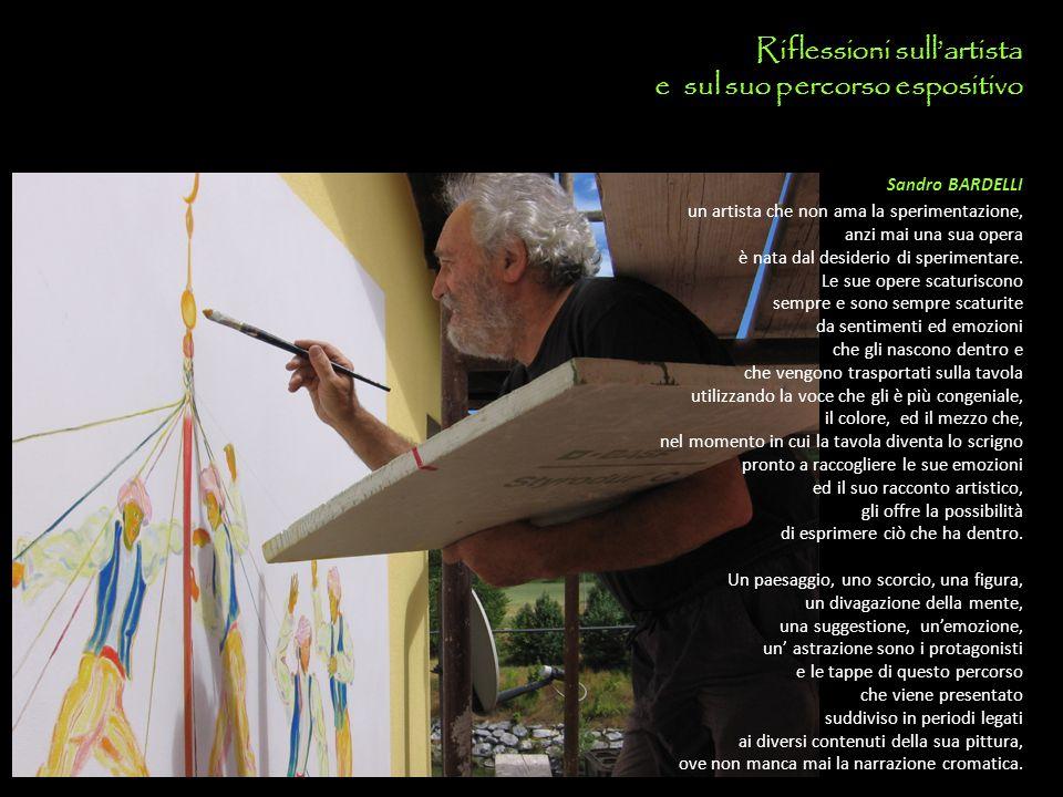 Riflessioni sull'artista e sul suo percorso espositivo