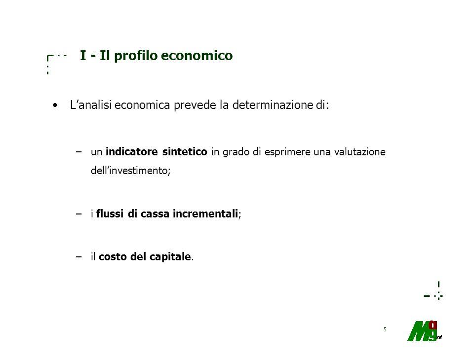 I - Il profilo economico