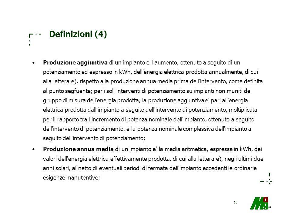 Definizioni (4)
