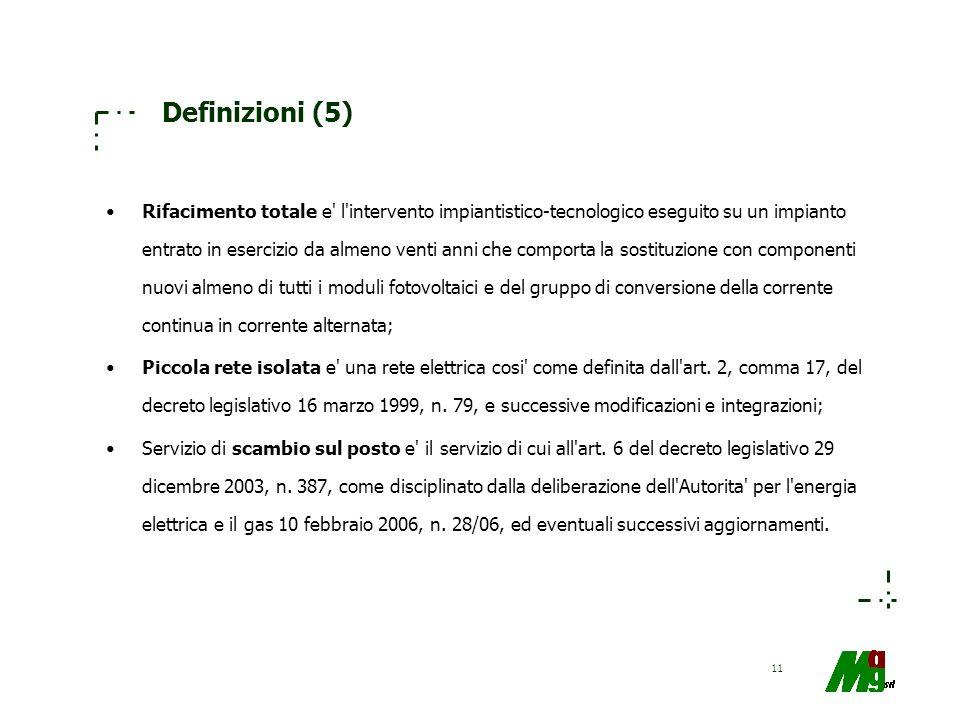 Definizioni (5)