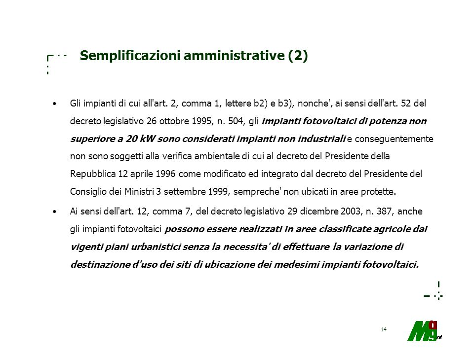 Semplificazioni amministrative (2)