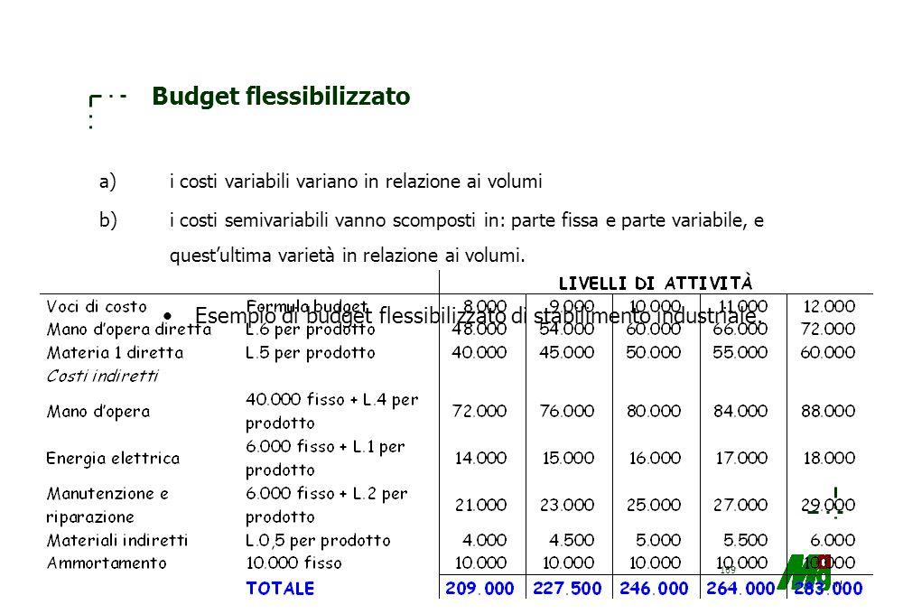 Budget flessibilizzato