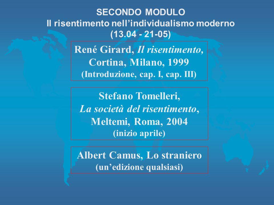 René Girard, Il risentimento, Cortina, Milano, 1999