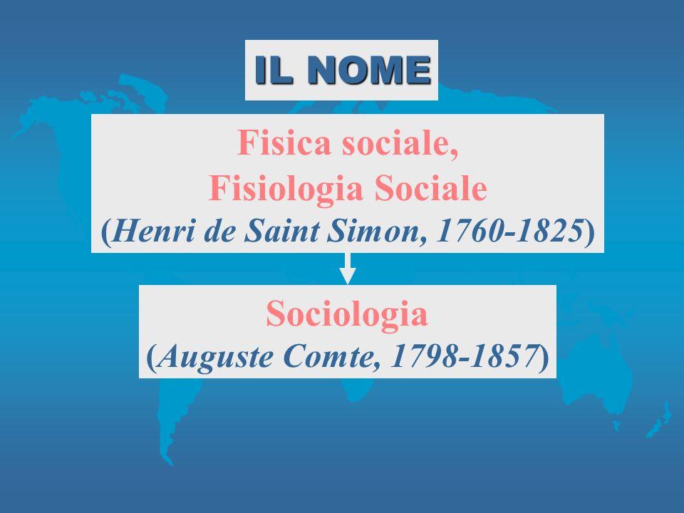 (Henri de Saint Simon, 1760-1825)