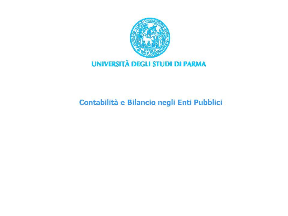 Contabilità e Bilancio negli Enti Pubblici