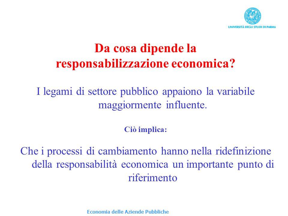 responsabilizzazione economica