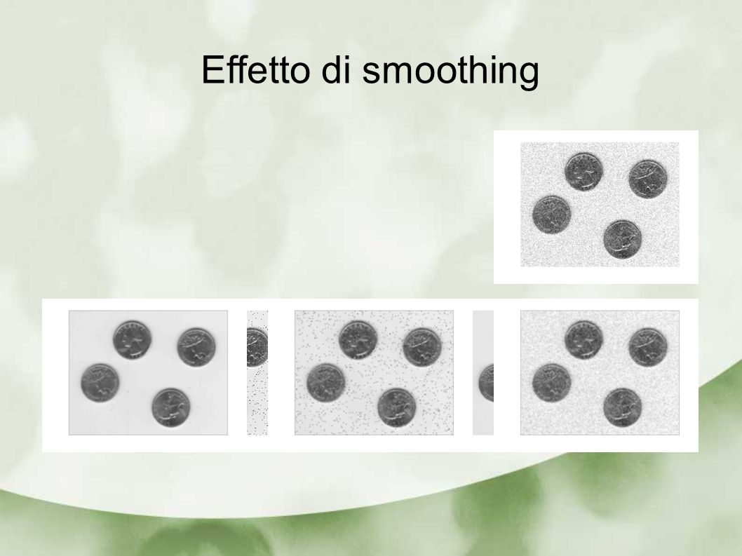 Effetto di smoothing
