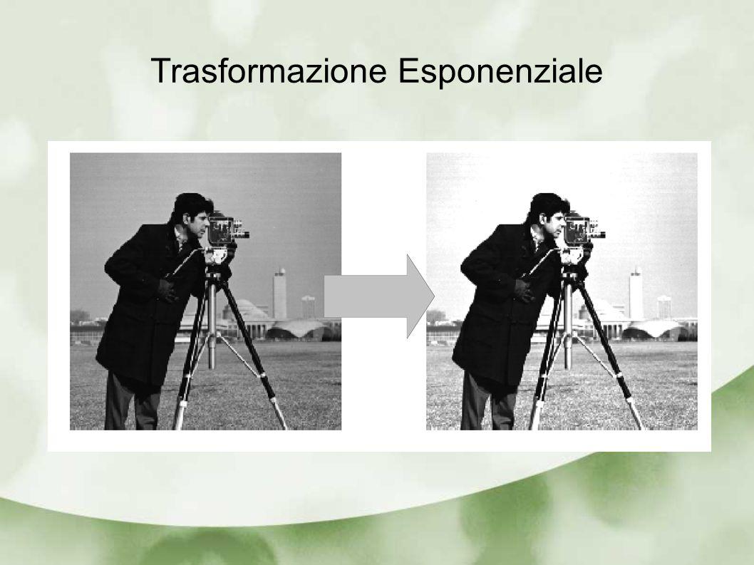 Trasformazione Esponenziale