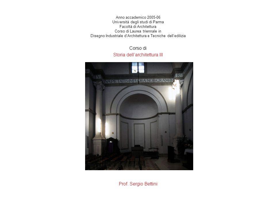 Storia dell'architettura III