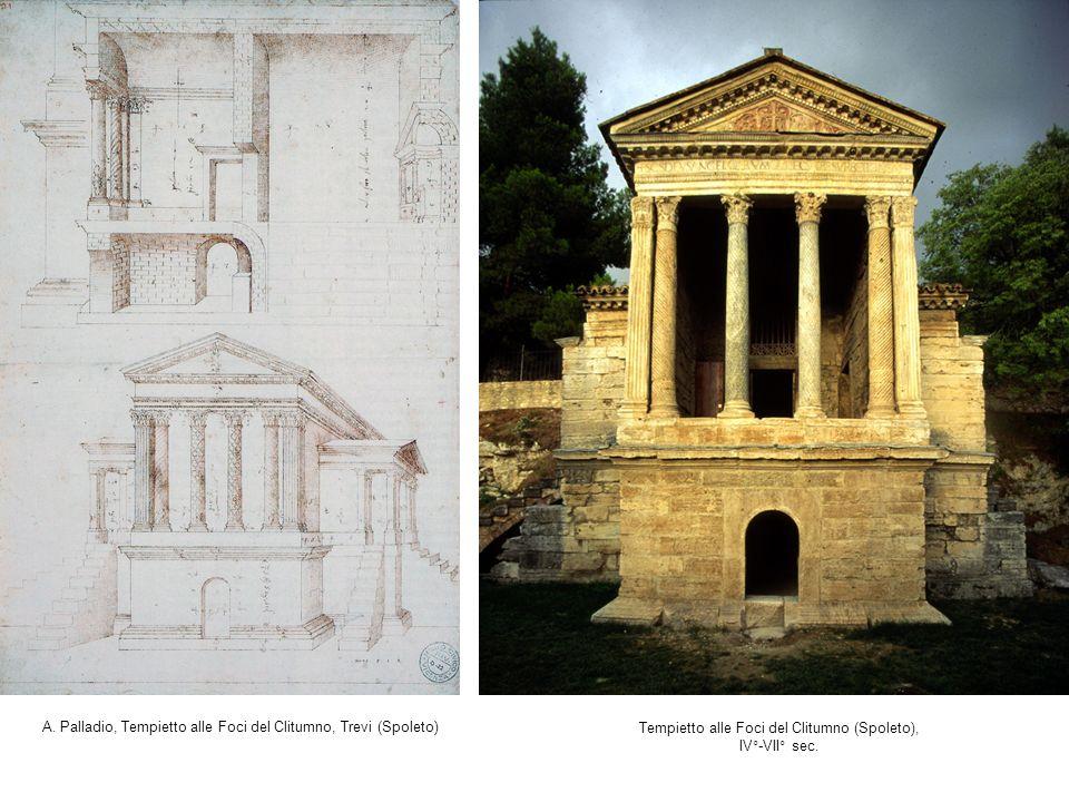 A. Palladio, Tempietto alle Foci del Clitumno, Trevi (Spoleto)