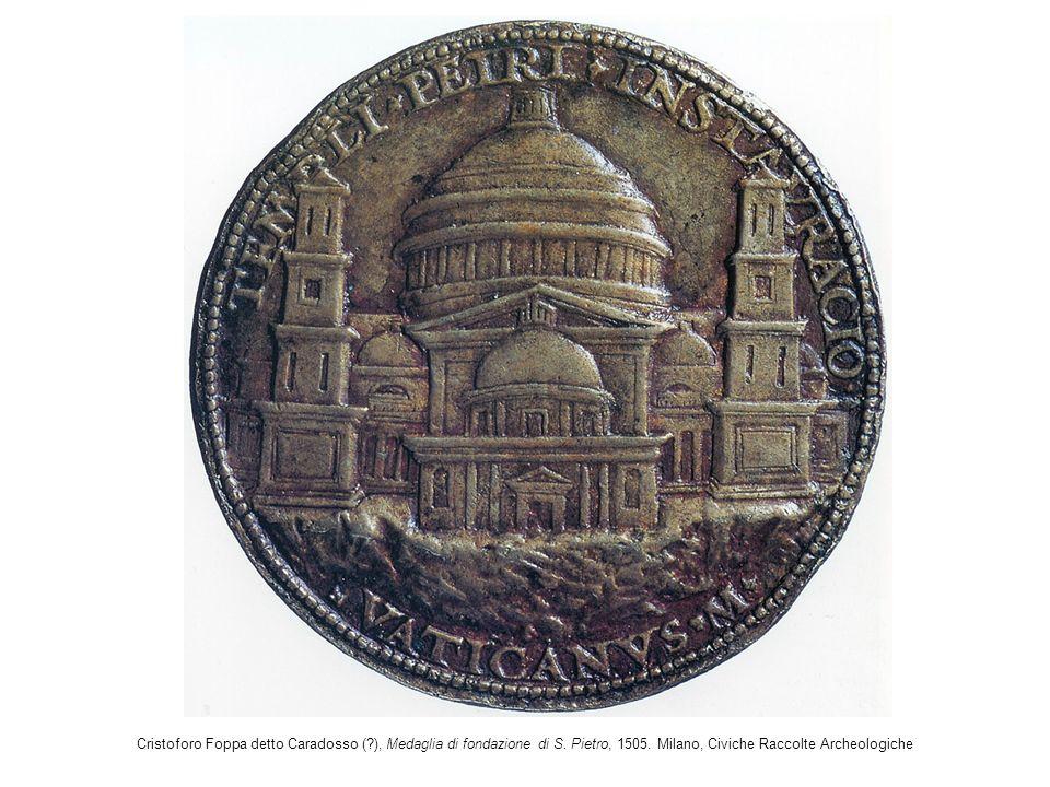 Cristoforo Foppa detto Caradosso (. ), Medaglia di fondazione di S