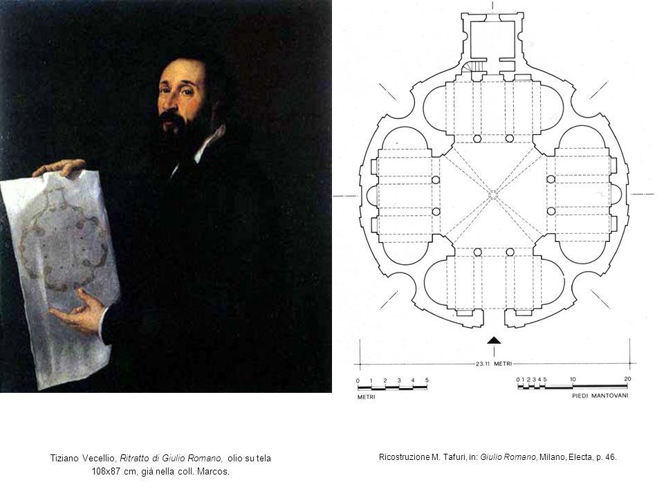 Ricostruzione M. Tafuri, in: Giulio Romano, Milano, Electa, p. 46.