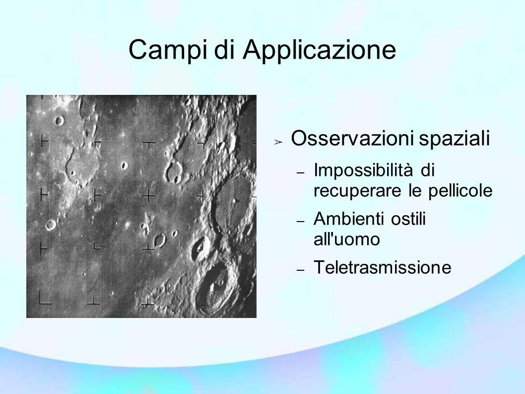Campi di Applicazione Osservazioni spaziali