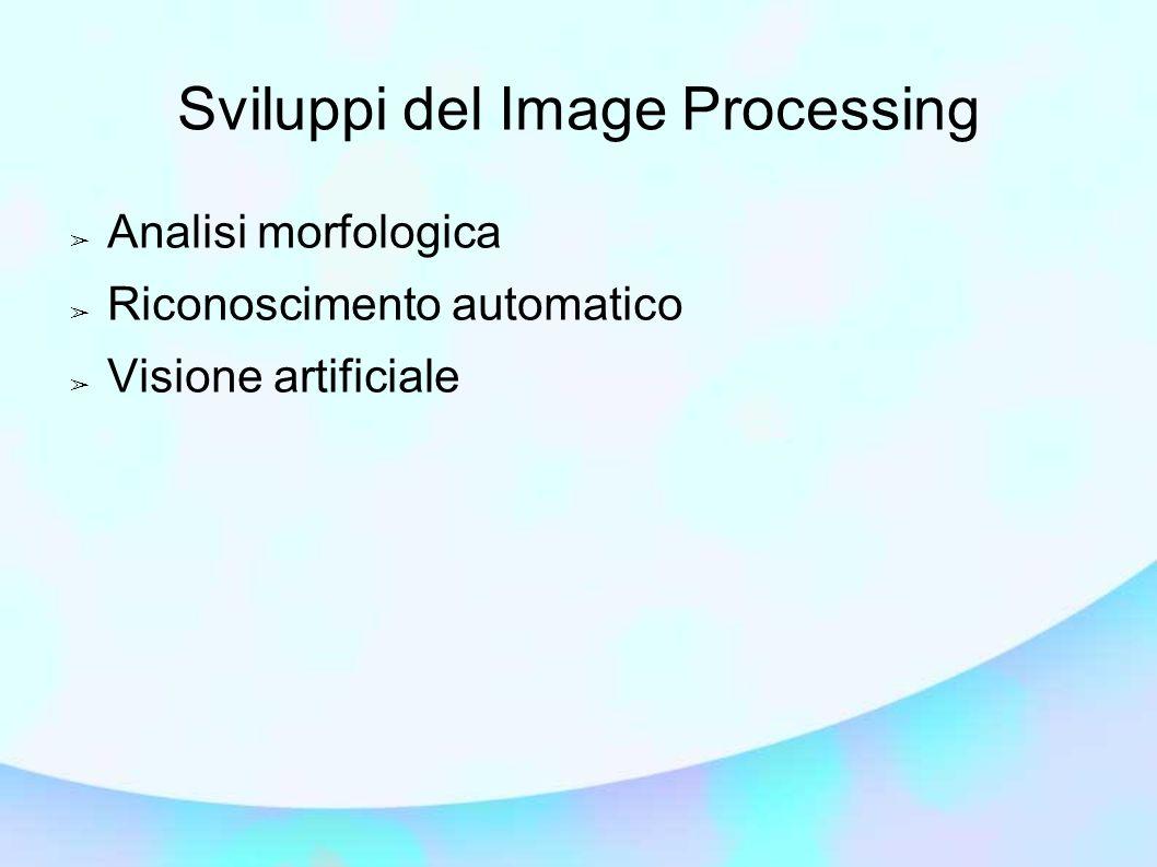 Sviluppi del Image Processing