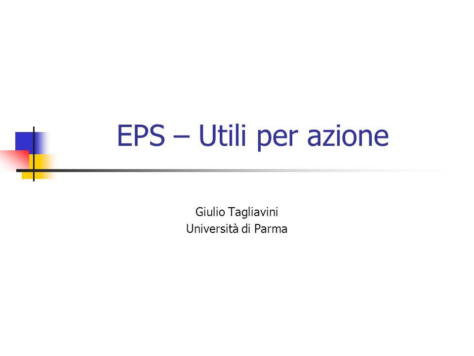 Giulio Tagliavini Università di Parma