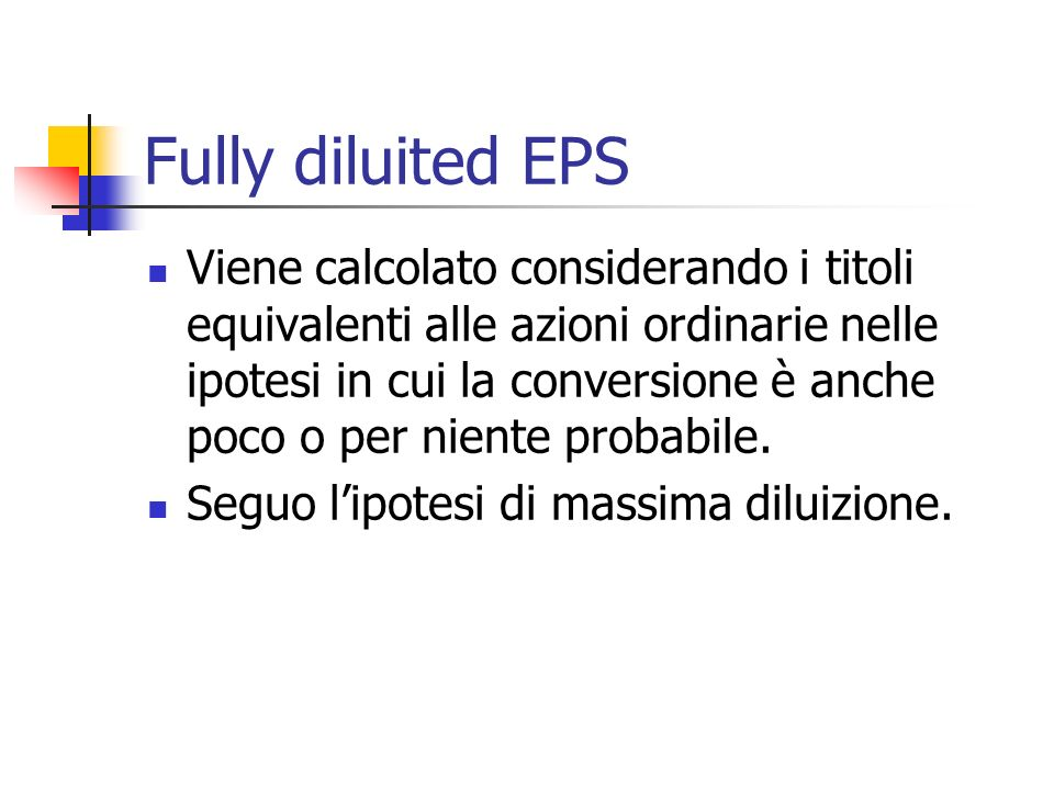 Fully diluited EPS