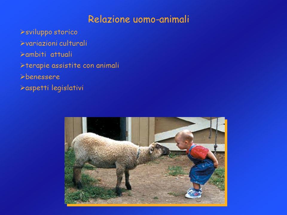 Relazione uomo-animali