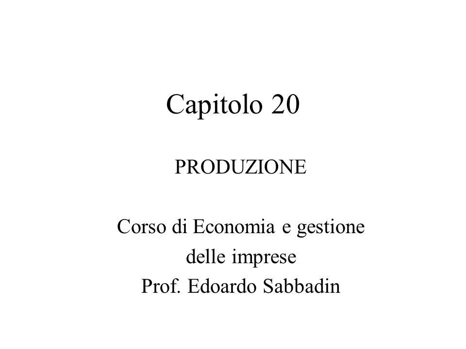 Corso di Economia e gestione