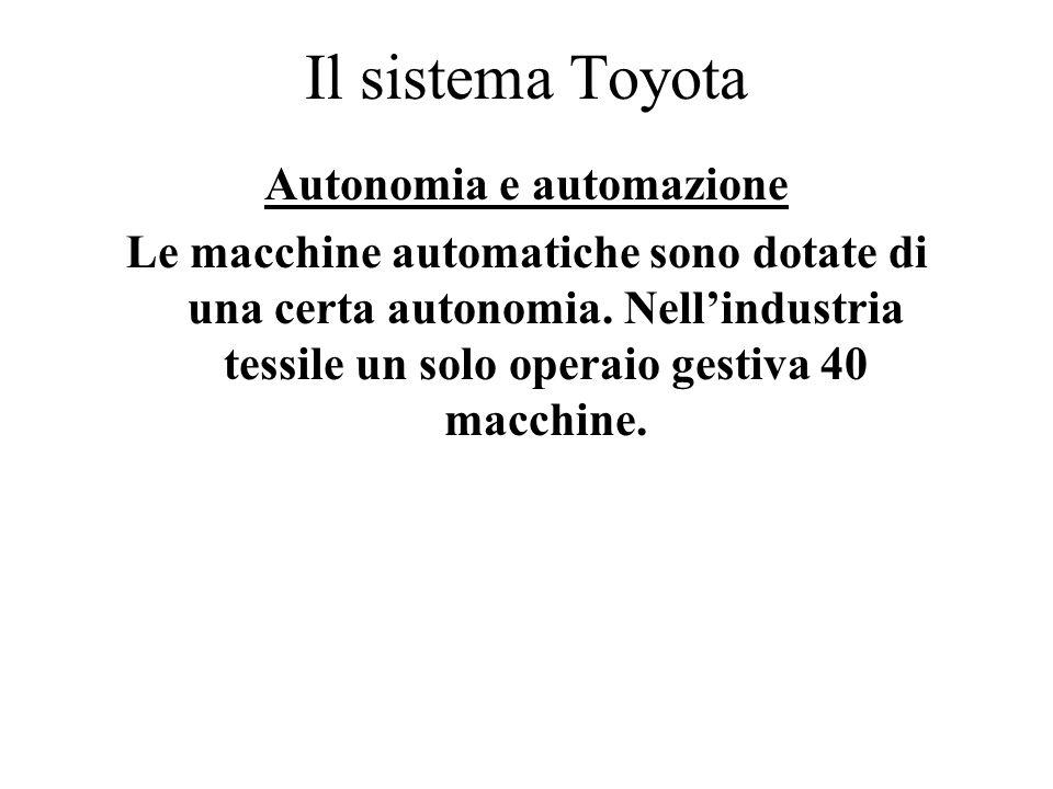 Autonomia e automazione