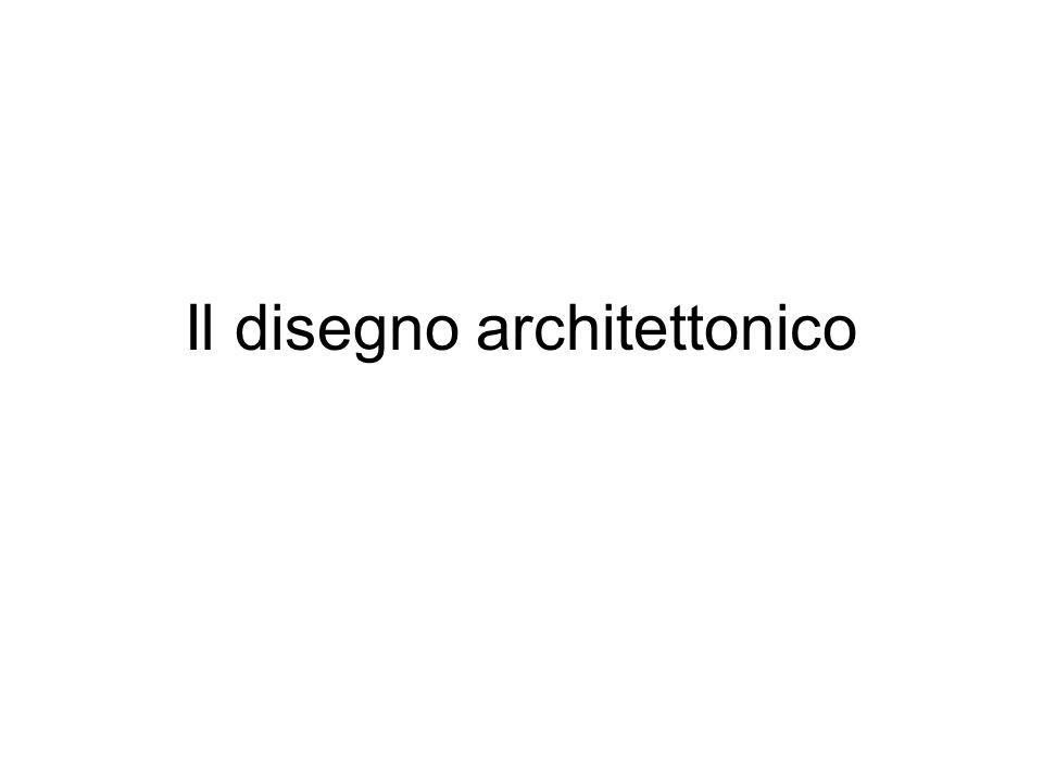 Il disegno architettonico
