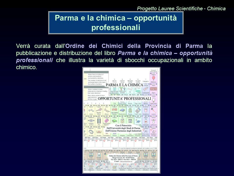 Parma e la chimica – opportunità professionali