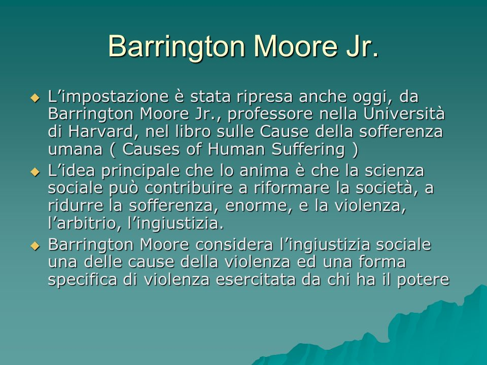 Barrington Moore Jr.