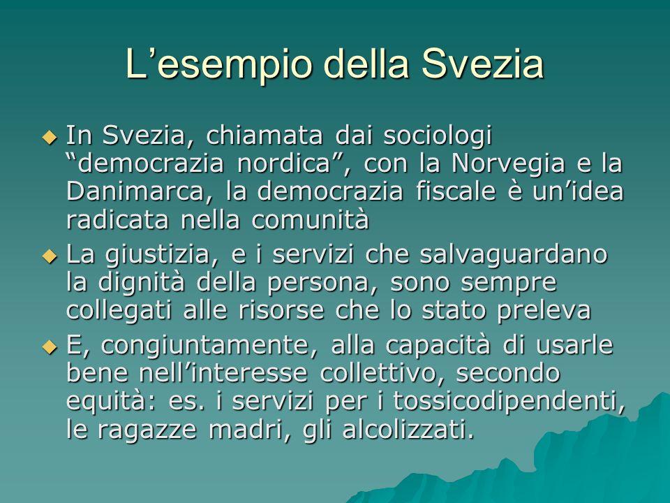 L'esempio della Svezia