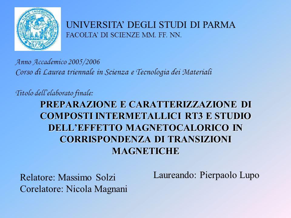 Laureando: Pierpaolo Lupo