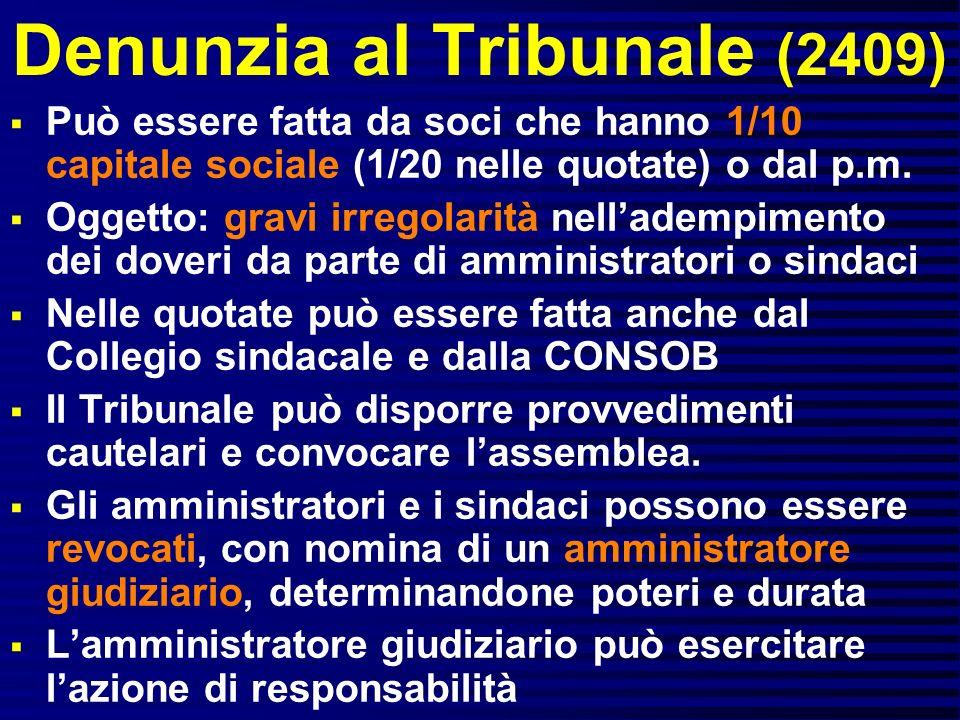 Denunzia al Tribunale (2409)