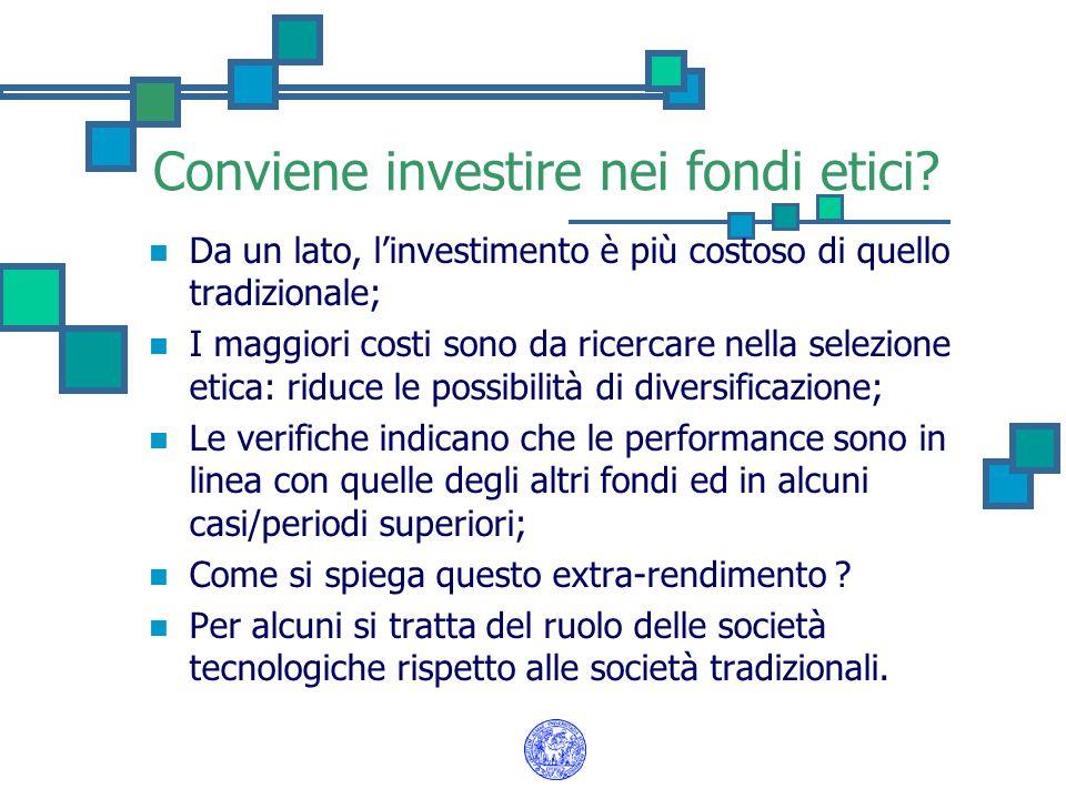Conviene investire nei fondi etici