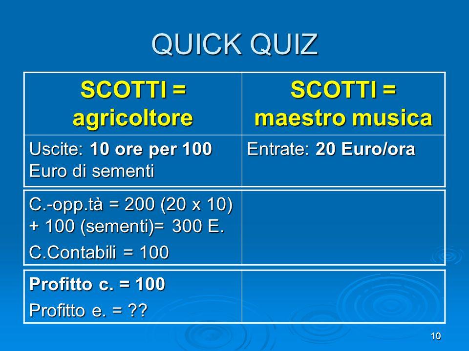 SCOTTI = maestro musica