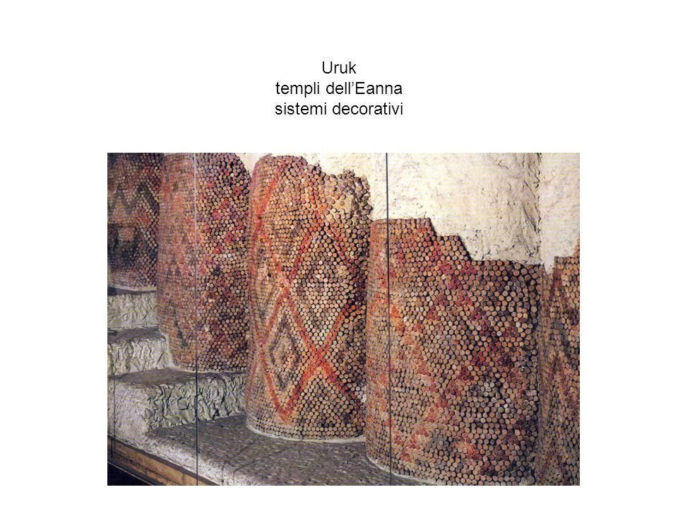 Uruk templi dell'Eanna sistemi decorativi