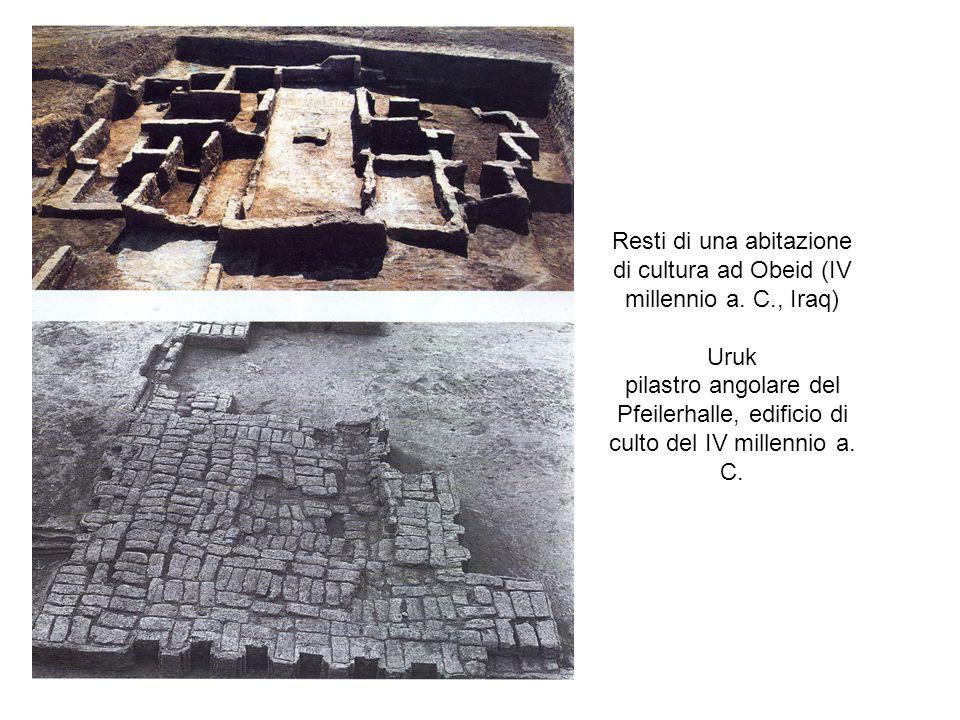 Resti di una abitazione di cultura ad Obeid (IV millennio a. C