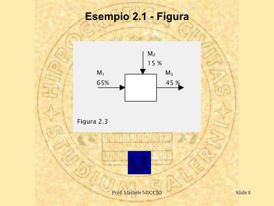 Esempio 2.1 - Figura Prof. Michele MICCIO
