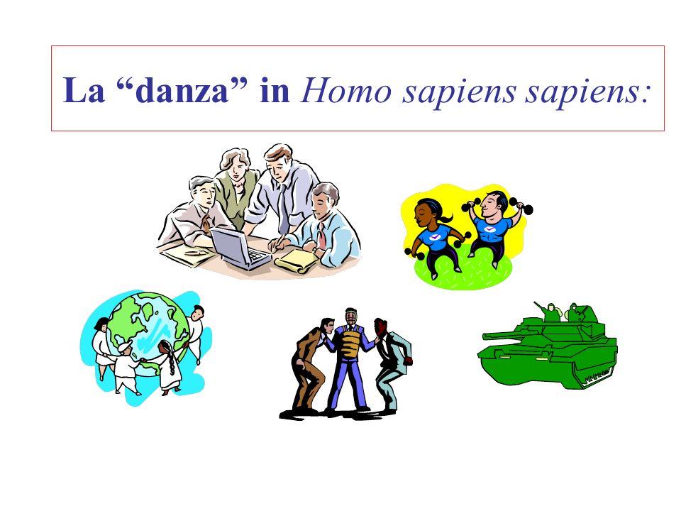La danza in Homo sapiens sapiens: