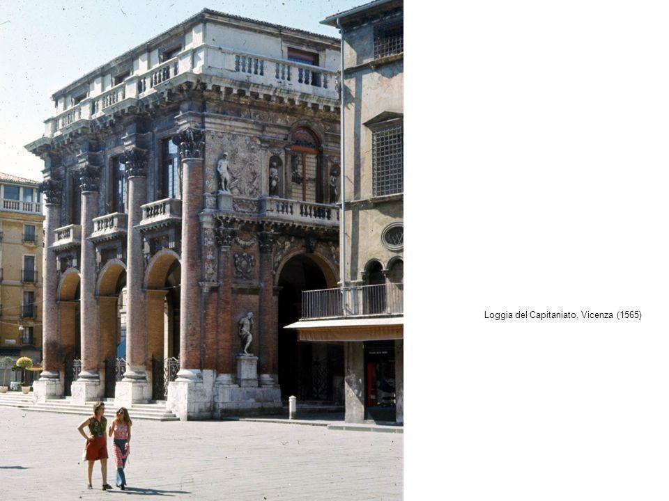 Loggia del Capitaniato, Vicenza (1565)
