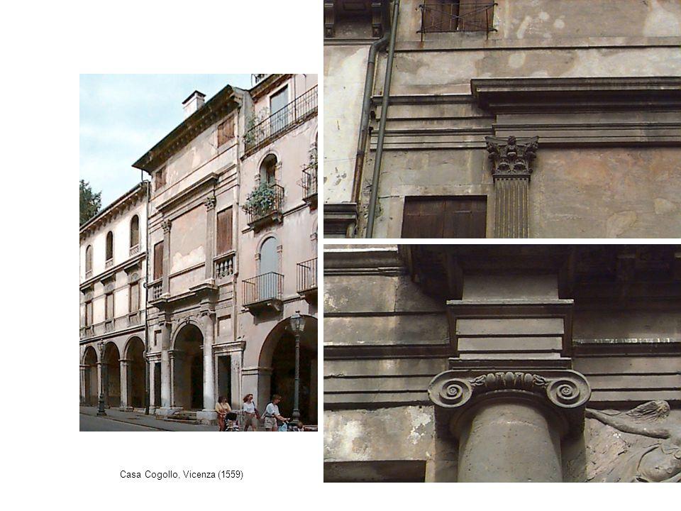 Casa Cogollo, Vicenza (1559)